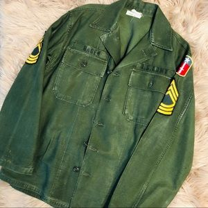 Authentic vintage US Army jacket
